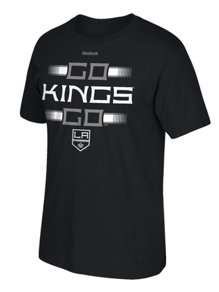 Los Angeles Kings King Stripe Go Kings Go T-Shirt
