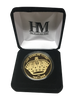 LA Kings 50th Anniversary Queens Crown Gold Minted Coin