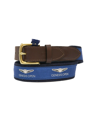 Genesis Open Logo Navy Belt