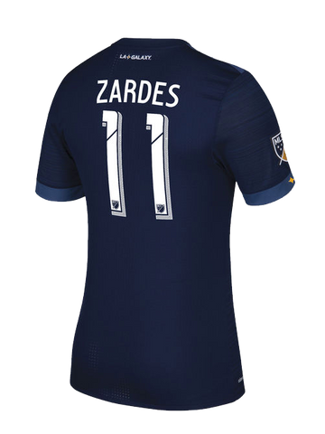 LA Galaxy Authentic Gyasi Zardes Secondary Jersey