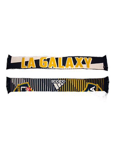 LA Galaxy Limited Edition Stripe Jacquered Scarf
