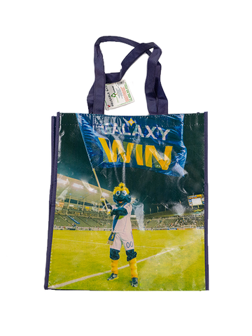 LA Galaxy Mascot Cozmo Reusable Bag