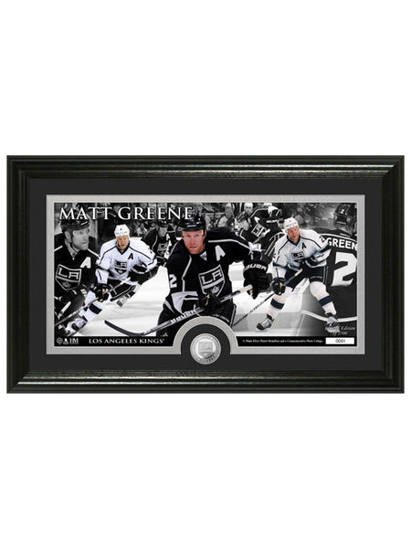 LA Kings Matt Green Frame Photo & Coin