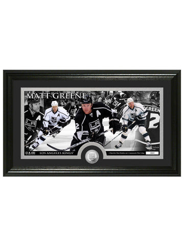 Los Angeles Kings Matt Green Frame Photo & Coin