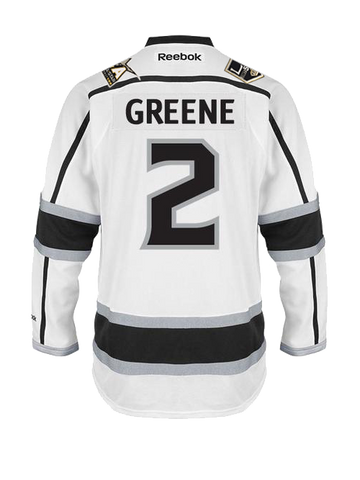 Los Angeles Kings Matt Greene Premier Road Jersey