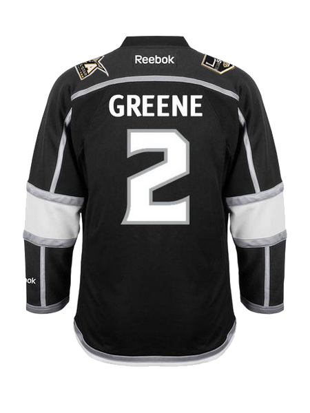 Los Angeles Kings Matt Greene Premier Home Jersey