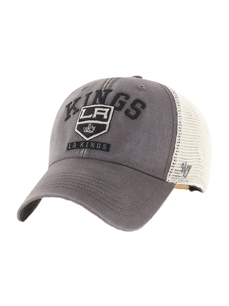 LA Kings Brayman MVP Adjustable Cap - Cinder