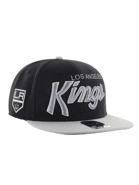 Los Angeles Kings Crosstown Script Shield Two Tone '47 Captain Cap