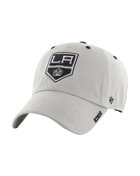 LA Kings Charcoal on Ice Clean Up Adjustable Cap