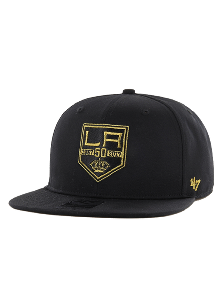 Los Angeles Kings 50th Anniversary Oath Metallic Adjustable Cap