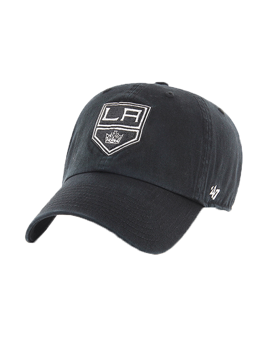 LA Kings Primary Adjustable Clean Up Cap - Black