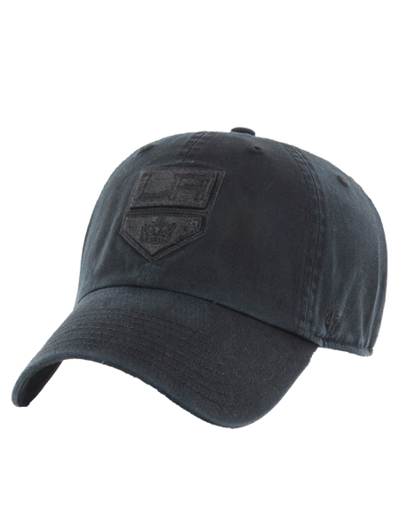 LA Kings Black on Black Clean Up Adjustable Cap