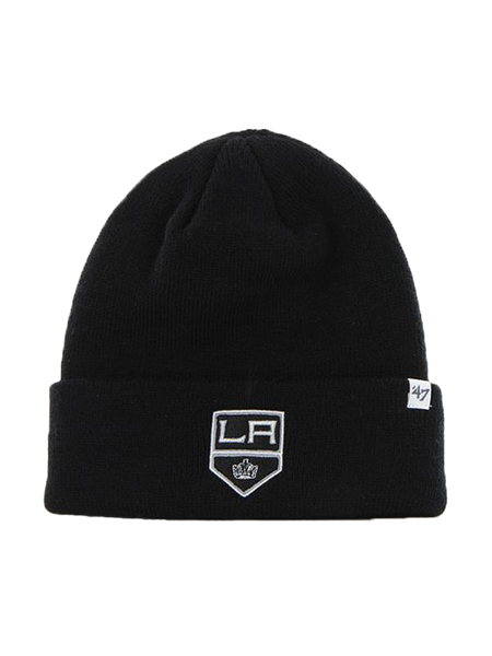 LA Kings Primary Raised Cuff Knit Hat - Black