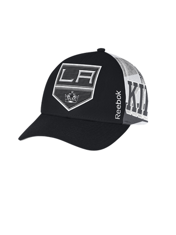 Los Angeles Kings Center Ice Trucker Mesh Adjustable Cap