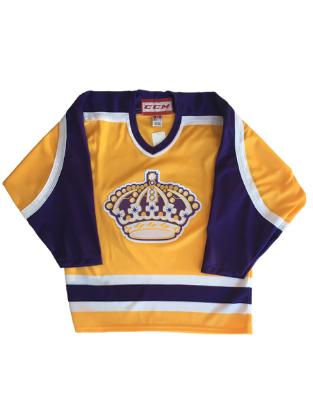 Los Angeles Kings Heritage 1987 Queens Crown Jersey