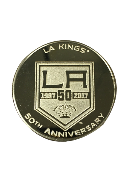 Los Angeles Kings 50th Anniversary Chevy Gold Minted Coin
