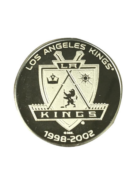 Los Angeles Kings 50th Anniversary Sun Shield Gold Minted Coin