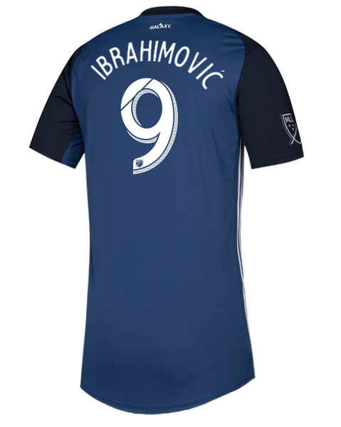 LA Galaxy Navy Night Zlatan Ibrahimović Replica Secondary Jersey