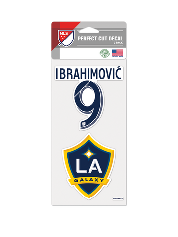 LA Galaxy Zlatan Ibrahimović 4x8 Decal