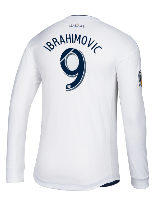 LA Galaxy Zlatan Ibrahimović Primary Authentic Long Sleeve Jersey