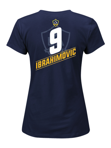 bbe3d8d6a LA Galaxy Zlatan Ibrahimović Women's Big & Tall Player T-Shirt