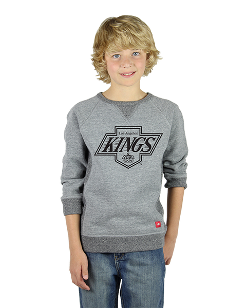 LA Kings Youth Chevy Logo Lil Derek Sweatshirt - Grey