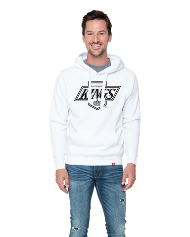 LA Kings Mens Chevy Logo Olsen Hoody - White