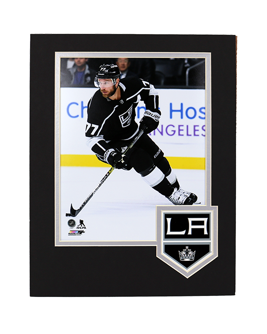 LA Kings Carter Framed Logo Photo