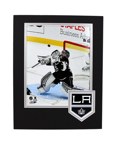 LA Kings Quick Framed Logo Photo