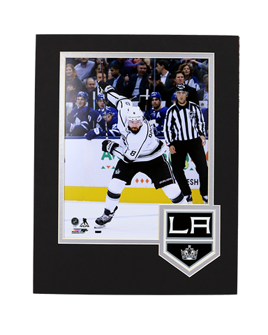 LA Kings Doughty Framed Logo Photo