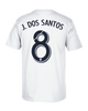 LA Galaxy Jonathan Dos Santos Home Player T-Shirt
