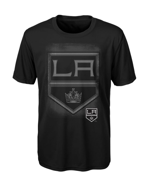 LA Kings Youth Logo Matrix Short Sleeve T-Shirt