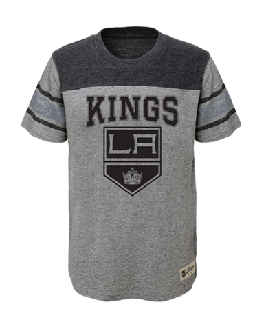 LA Kings Youth Heritage Slub Short Sleeve T-Shirt