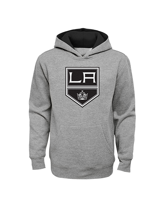 LA Kings Youth Prime Fleece Hoody - Grey