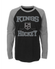 LA Kings Youth Morning Skate Long Sleeve Raglan T-Shirt