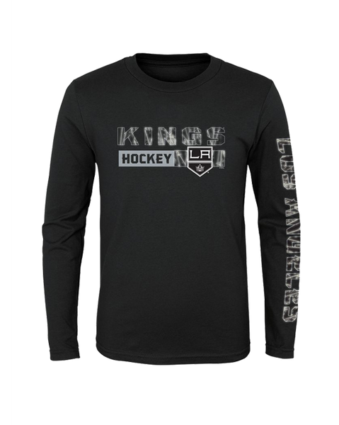 LA Kings Youth Ice Formation Long Sleeve T-Shirt