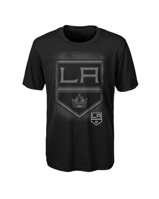 LA Kings Kids Logo Matrix Short Sleeve T-Shirt