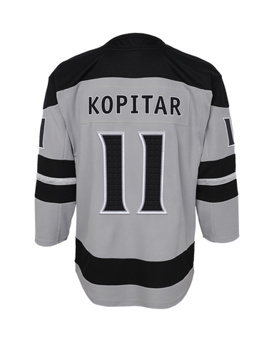LA Kings Kids Replica Anze Kopitar Alternate Jersey