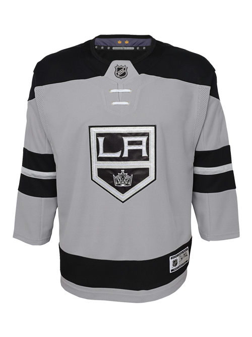 LA Kings Kids Replica Alternate Jersey