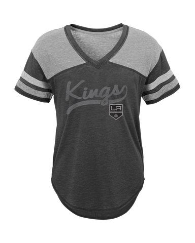 LA Kings Youth Girls Scripted Shot T-Shirt