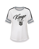 LA Kings Girls Set The Pace Short Sleeve Tee - White
