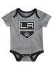 LA Kings Infant Even Strength 3pc Creeper Pack