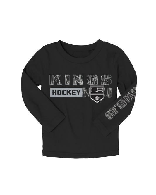 LA Kings Toddler Ice Formation Long Sleeve T-Shirt