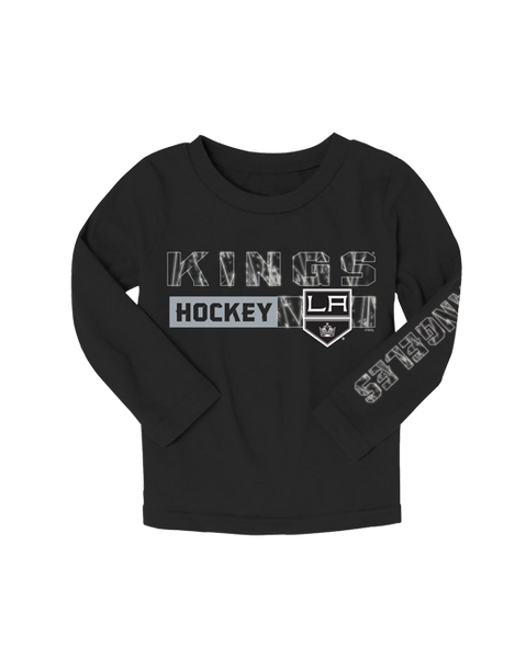 LA Kings Kids Ice Formation Long Sleeve T-Shirt