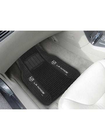 LA Kings Deluxe Car Mat - 2 Pieces