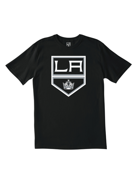 Los Angeles Kings Primary Logo T-Shirt - Black