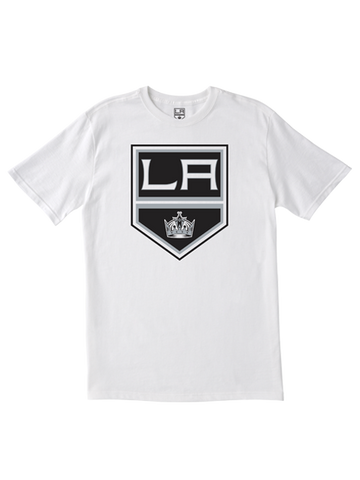 Los Angeles Kings Primary Logo T-Shirt - White