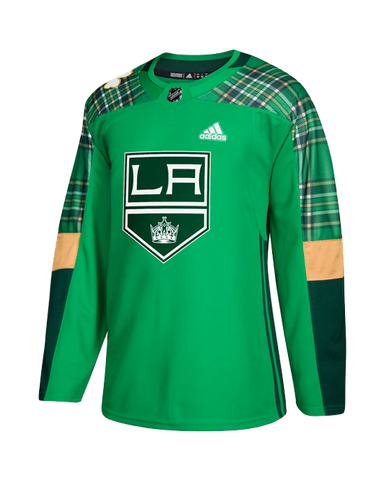 LA KINGS AUTHENTIC ST. PATRICK'S DAY JERSEY