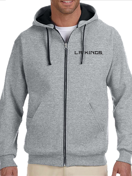 LA Kings Wordmark Full Zip Hoodie