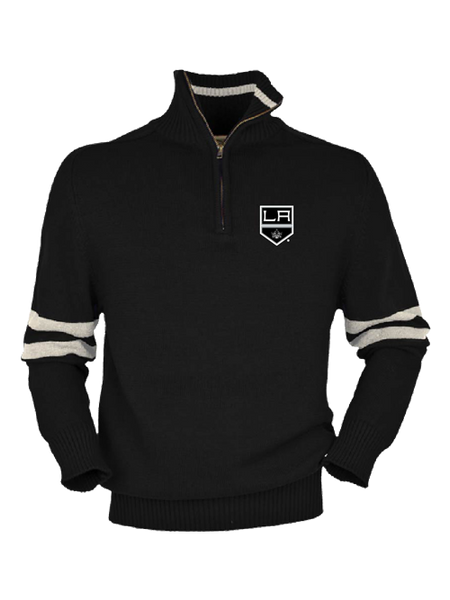 LA Kings Half Back Quarter Zip Fleece